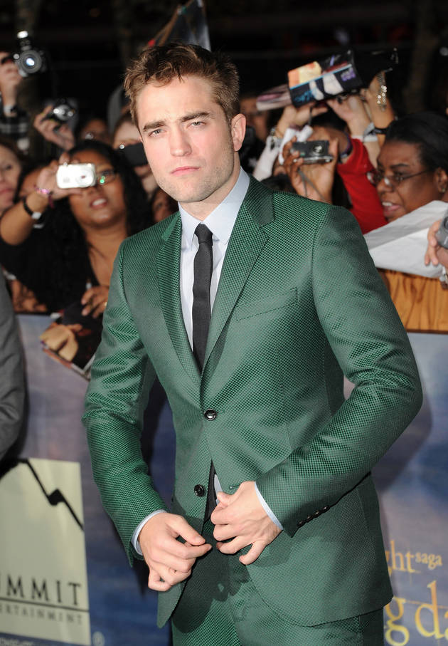 Robert Pattinson Makes Out with Topless Model — See the Pic!