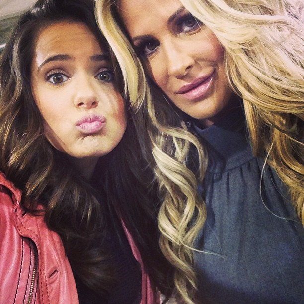 "Kim Zolciak Says Things Are ""Much Better"" With Brielle"
