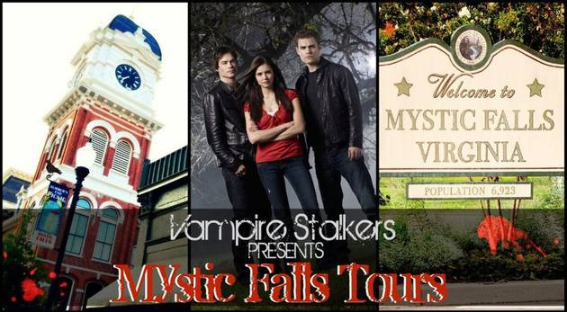 Vampire Diaries Fans: Want to Tour Mystic Falls? Find Out How!