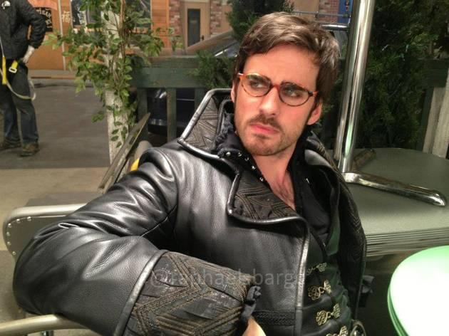 Colin O'Donoghue and Revenge's Gabriel Mann — Crossover Alert! (PHOTO)