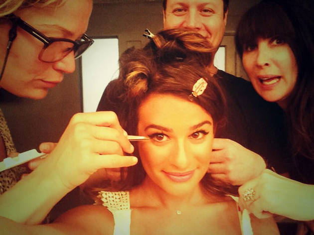 Lea Michele Dishes on Her Book: New Photos, Cory Monteith Relationship
