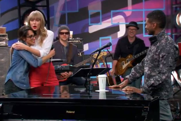 Taylor Swift Surprises Michelle Chamuel on The Voice Season 4, June 3, 2013 (VIDEO)