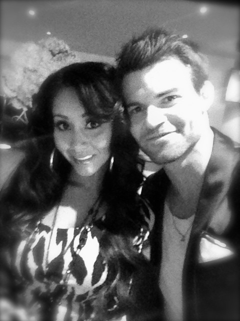 The Originals' Daniel Gillies Hangs With Snooki From Jersey Shore