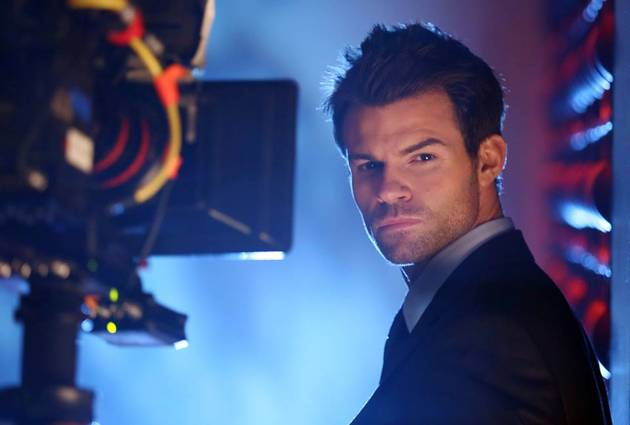 The Originals' Daniel Gillies Smolders in a Behind-the-Scenes Photo