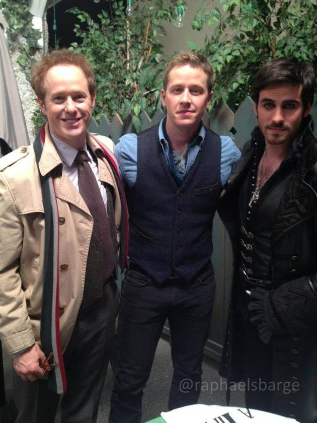 Once Upon a Time Season 3: Josh Dallas Teases a Hook and Charming Bromance!