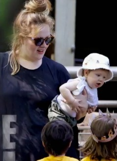 Adele Seen Out With 8-Month-Old Son Angelo: First Look! (PHOTO)