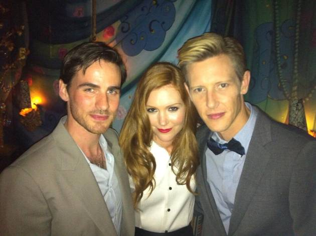 Once Upon a Time's Colin O'Donoghue Hangs Out With Scandal and Revenge Stars (PHOTO)