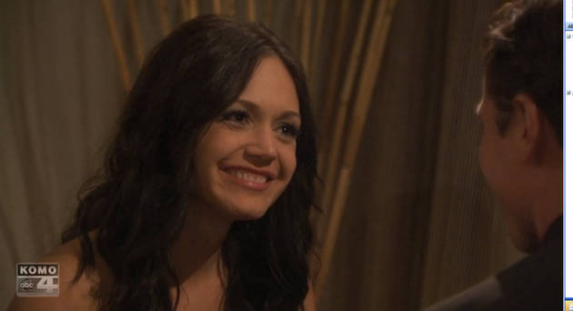 Desiree Hartsock's Suitor Has to Close His Eyes to Tell the Truth? (VIDEO)