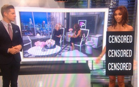 Giuliana Rancic Gets Completely Naked on E! News — But Why? (PHOTO)