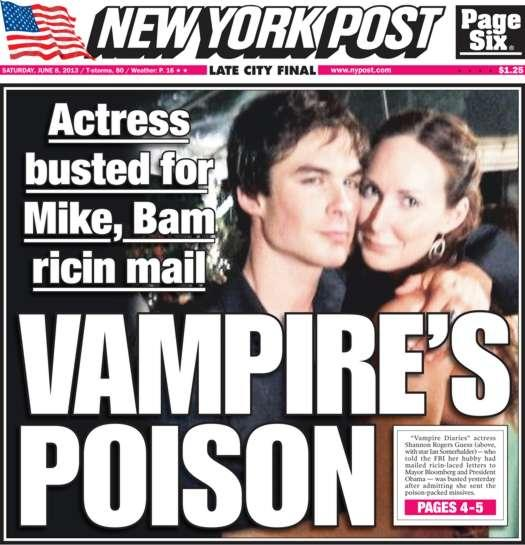 Ian Somerhalder Shocked By Photo With Arrested Vampire Diaries Actress