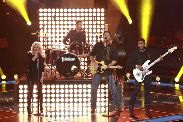 The Voice 2013 Finale: Blake Shelton, Adam Levine, Shakira, and Usher to Sing The Beatles (6/17/2013)