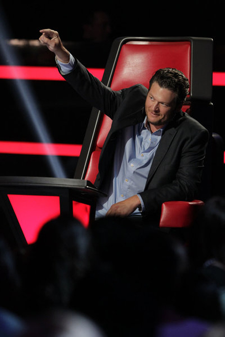 "Blake Shelton: ""Michelle Chamuel Was a Thorn in my Side"" on The Voice 2013"