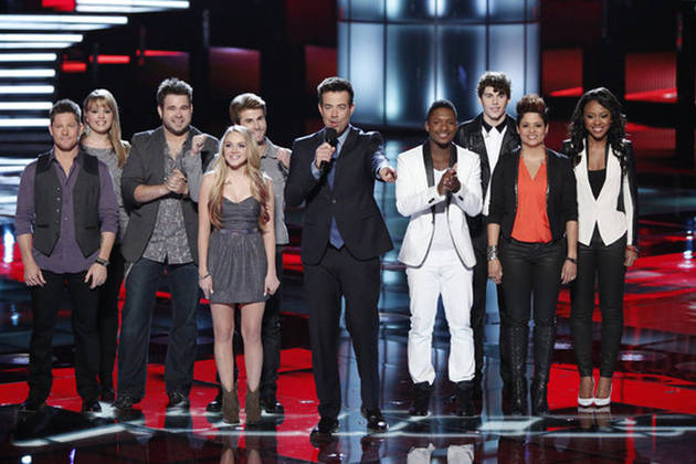 The Voice 2013's Top 16 Return For Season 4 Finale!