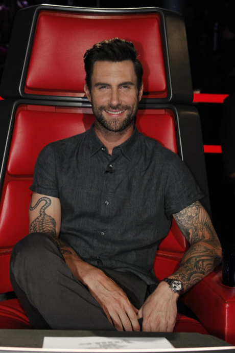 "Adam Levine Talks Blake Shelton's Voice Wins: ""His Head Can't Get Any Bigger"""