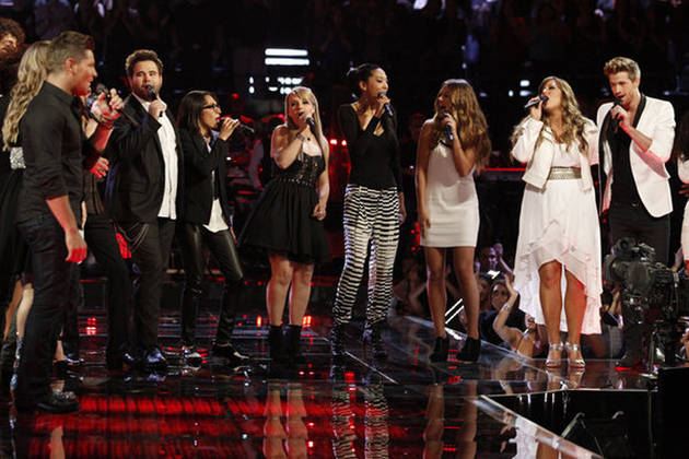 "Top 16 Contestants Sing ""Home"" on The Voice 2013 Finale, June 17 (VIDEO)"