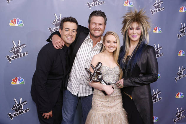 Blake Shelton on His Favorite Voice Season 4 Finale Moment — It Wasn't Danielle Bradbery's Win! (VIDEO)