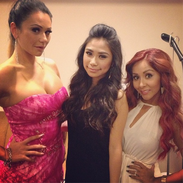 Snooki and JWOWW Hung Out With Which Glee and American Idol Stars? (PHOTOS)