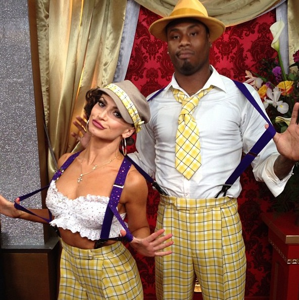 Dancing With the Stars' Karina Smirnoff and Jacoby Jones: Adorable Throwback Pic