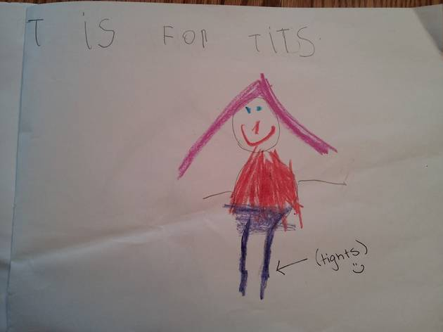 This Kid's Drawing Says 'T Is For…' WHAT!?
