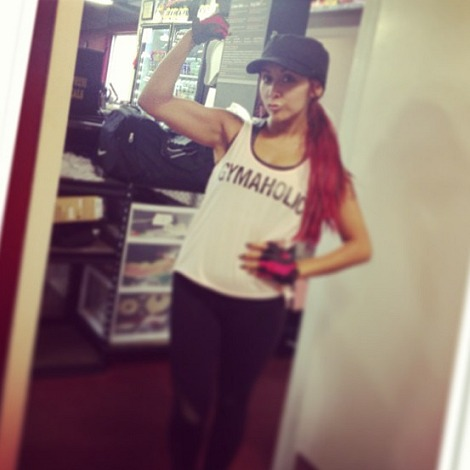 Snooki Did WHAT Crazy Thing at the Gym? (PHOTO)