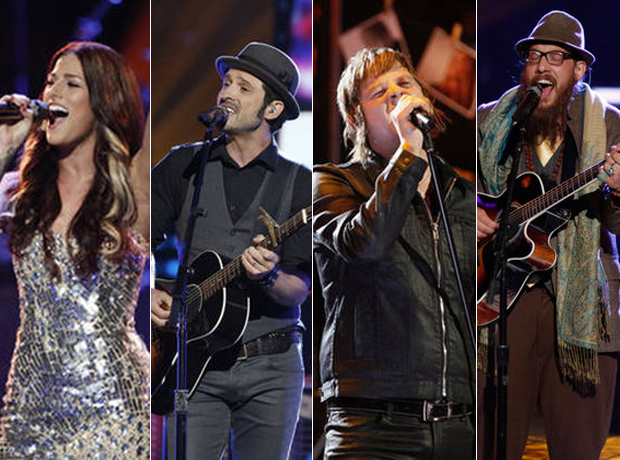 Which Voice Alum Has the Best New Single: Cassadee Pope, Tony Lucca, Terry McDermott, or Nicholas David?