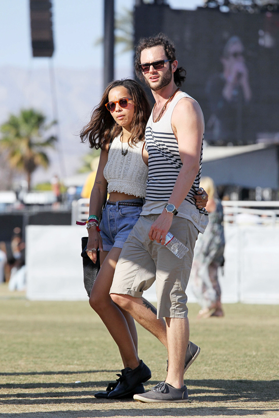 Penn Badgley, Zoe Kravitz Split Up After Two Years Together