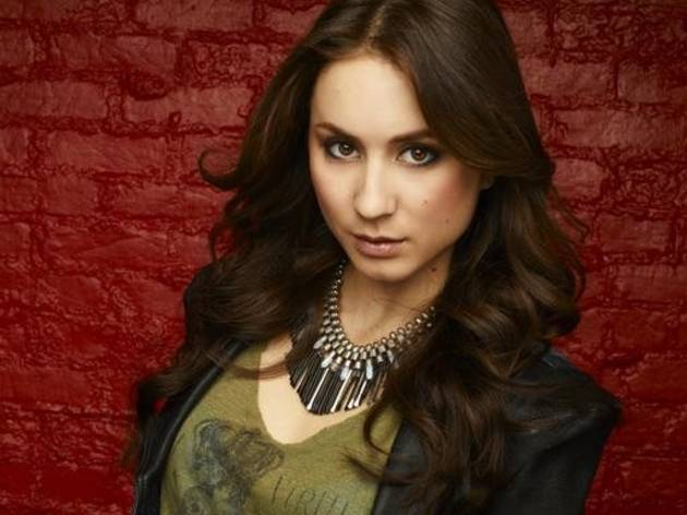 Pretty Little Liars' Troian Bellisario Masters Aerial Workouts! See Her Crazy Moves (PHOTO)