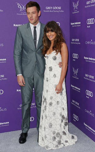 Lea Michele Grieving with Cory Monteith's Parents — Report