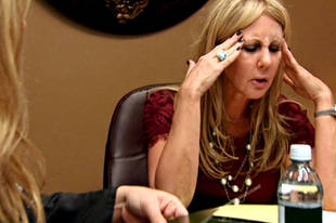 "Real Housewives' Vicki Gunvalson on Brooks Ayers's ""Fake"" Claims"