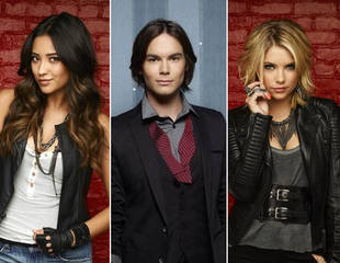 Pretty Little Liars' Ashley Benson, Shay Mitchell, and Tyler Blackburn's Adorable Love Triangle (PHOTO)