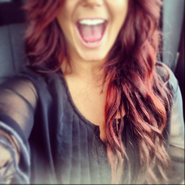 Chelsea Houska Dyes Hair Bright Red! (PHOTO)