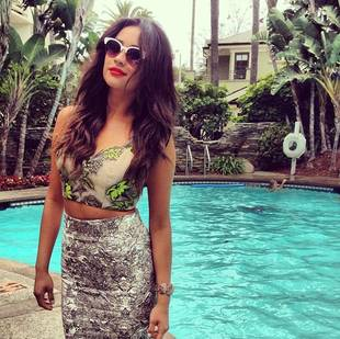 Pretty Little Liars' Shay Mitchell Goes Blond! See Her Summer Highlights (PHOTO)