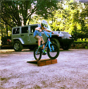 Bentley Edwards Does Bike Tricks! (PHOTOS)
