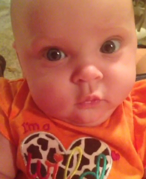 Adalynn Calvert's Many Adorable Faces! (VIDEO)