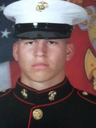Jenelle Evans's Boyfriend Nathan Griffith in the Marines: Flashback Pic! (PHOTO)