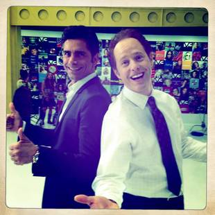 Once Upon a Time's Raphael Sbarge Pals Around With John Stamos in Adorable Pics!