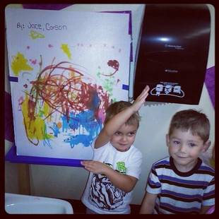 Which Teen Mom's Son Is an Amazing Artist? (PHOTO)