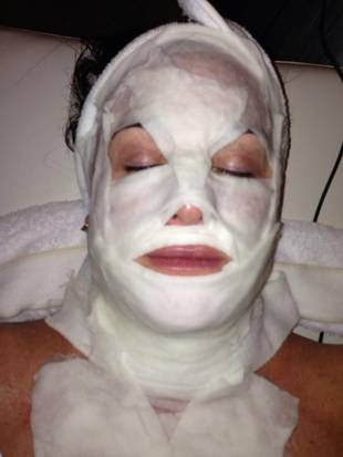 Kyle Richards' Beauty Secret: A Slightly Scary Face Mask