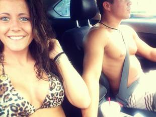 Jenelle Evans Goes Makeup Free in Leopard-Print Bikini! (PHOTO)