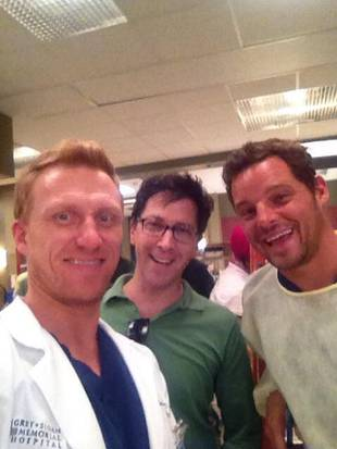 Grey's Anatomy Season 10: Justin Chambers and Kevin McKidd in the ER! (PHOTO)