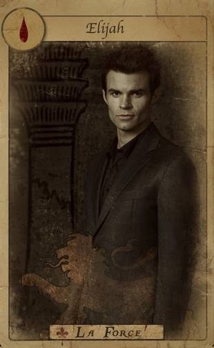 The Originals' Elijah in a New Tarot Card Promo Photo