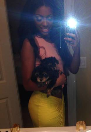 "Porsha Stewart Is Very Happy With Her ""Babies"" (PHOTO)"