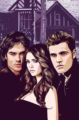 Vampire Diaries to Become DC Comics Digital First