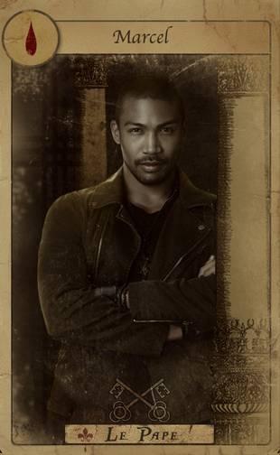 The Originals' Marcel in a New Tarot Card Promo Photo