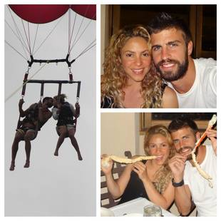 Shakira and Baby Daddy Gerard Pique Are More in Love Than Ever (PHOTOS)