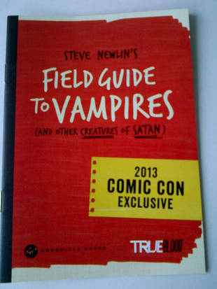 True Blood Giveaway: Win a Signed Sneek Peek of Steve Newlin's Field Guide to Vampires!