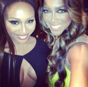 Kenya Moore Congratulates Kerry Washington on Her Surprise Marriage