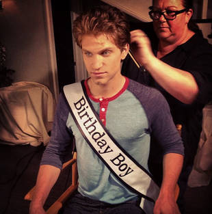 Pretty Little Liars Star Keegan Allen Has the Best Birthday Ever! (VIDEO)