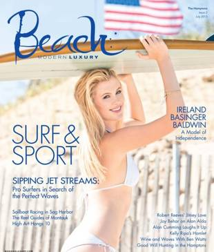 17-Year-Old Ireland Baldwin Wears a Bikini For Her First Magazine Cover (PHOTO)