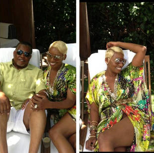 Newlywed NeNe Leakes Relaxes With Gregg (PHOTO)